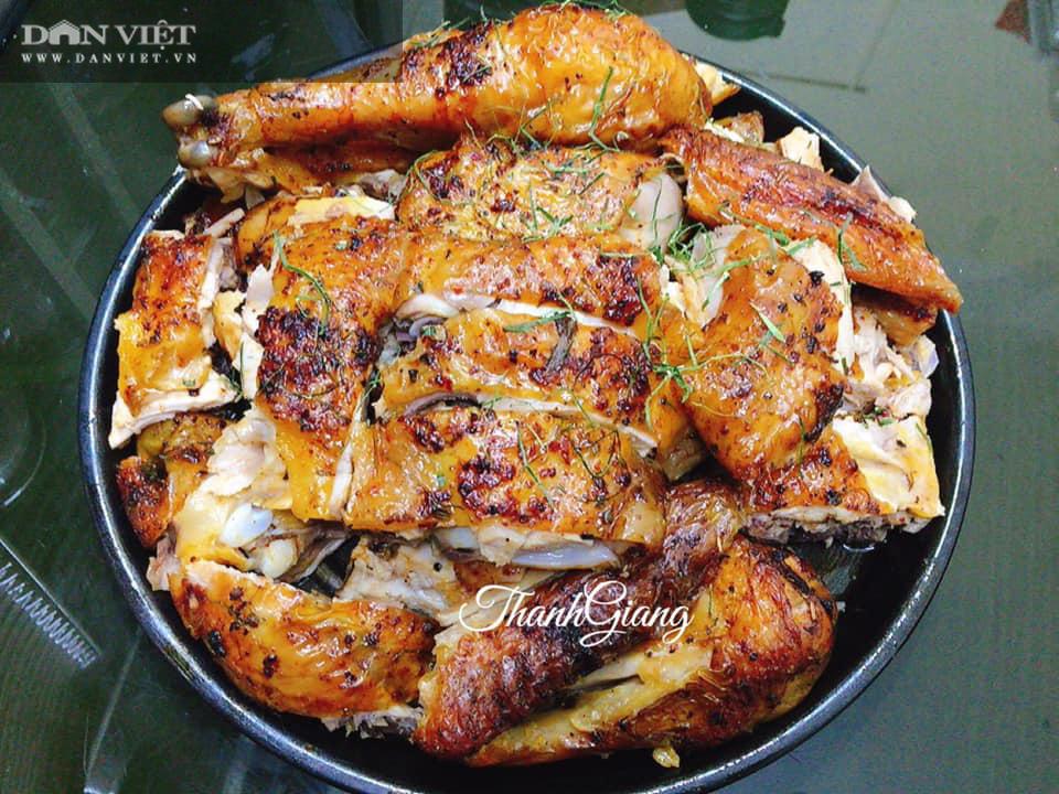 Tuyệt chiêu làm gà nướng muối ớt giòn bên ngoài, mềm bên trong bằng nồi chiên không dầu - Ảnh 4.