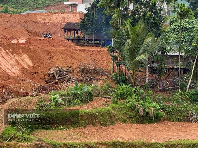 """Quảng Ngãi: Dự án khẩn 77 tỷ """"phủ"""" đất sỏi xuống đầy ruộng lúa của dân  - Ảnh 2."""