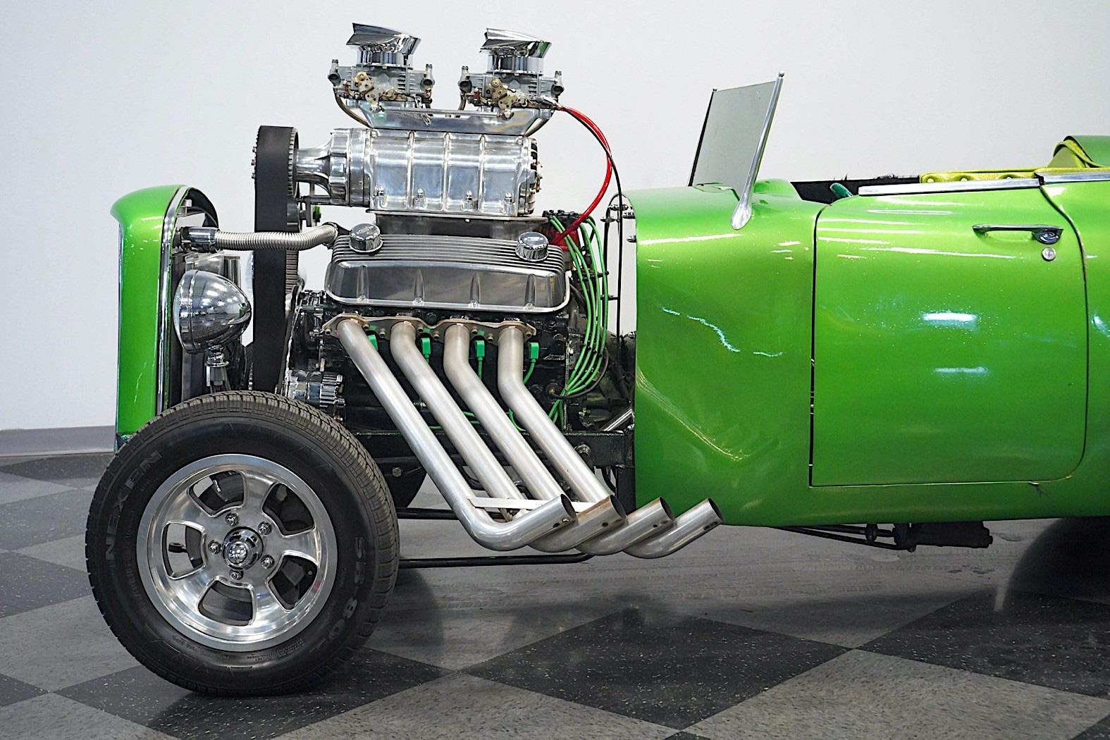 Chiếc xe cổ Cadillac 1959 phục chế biến tấu với động cơ lộ thiên  - Ảnh 5.