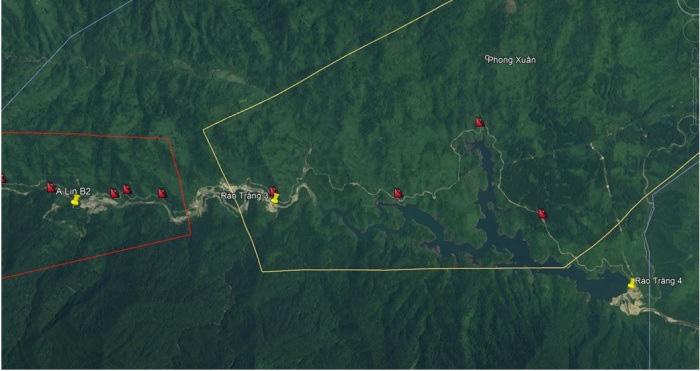 Khu vực thủy điện Rào Trăng 3 từng được cảnh báo có nguy cơ cao sạt lở - Ảnh 1.