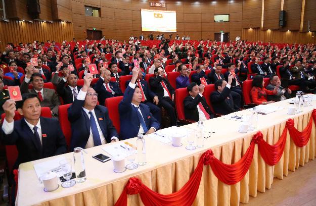 Ông Đặng Xuân Phong trúng cử chức Bí thư Tỉnh ủy Lào Cai khóa mới - Ảnh 1.