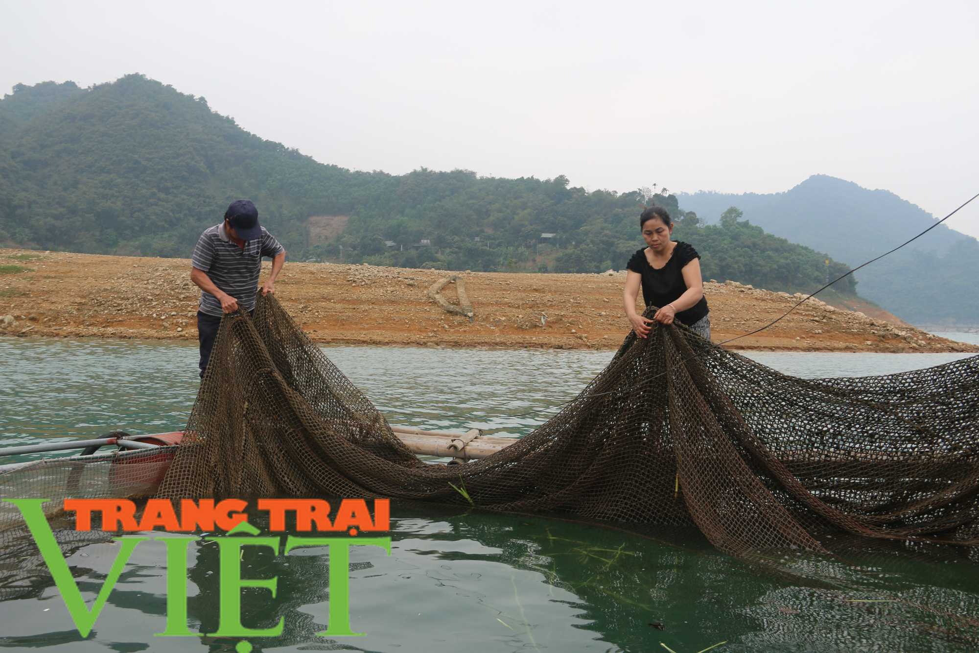 Hòa Bình: Phát huy tiềm năng thế mạnh nuôi cá lồng trên vùng lòng hồ - Ảnh 5.