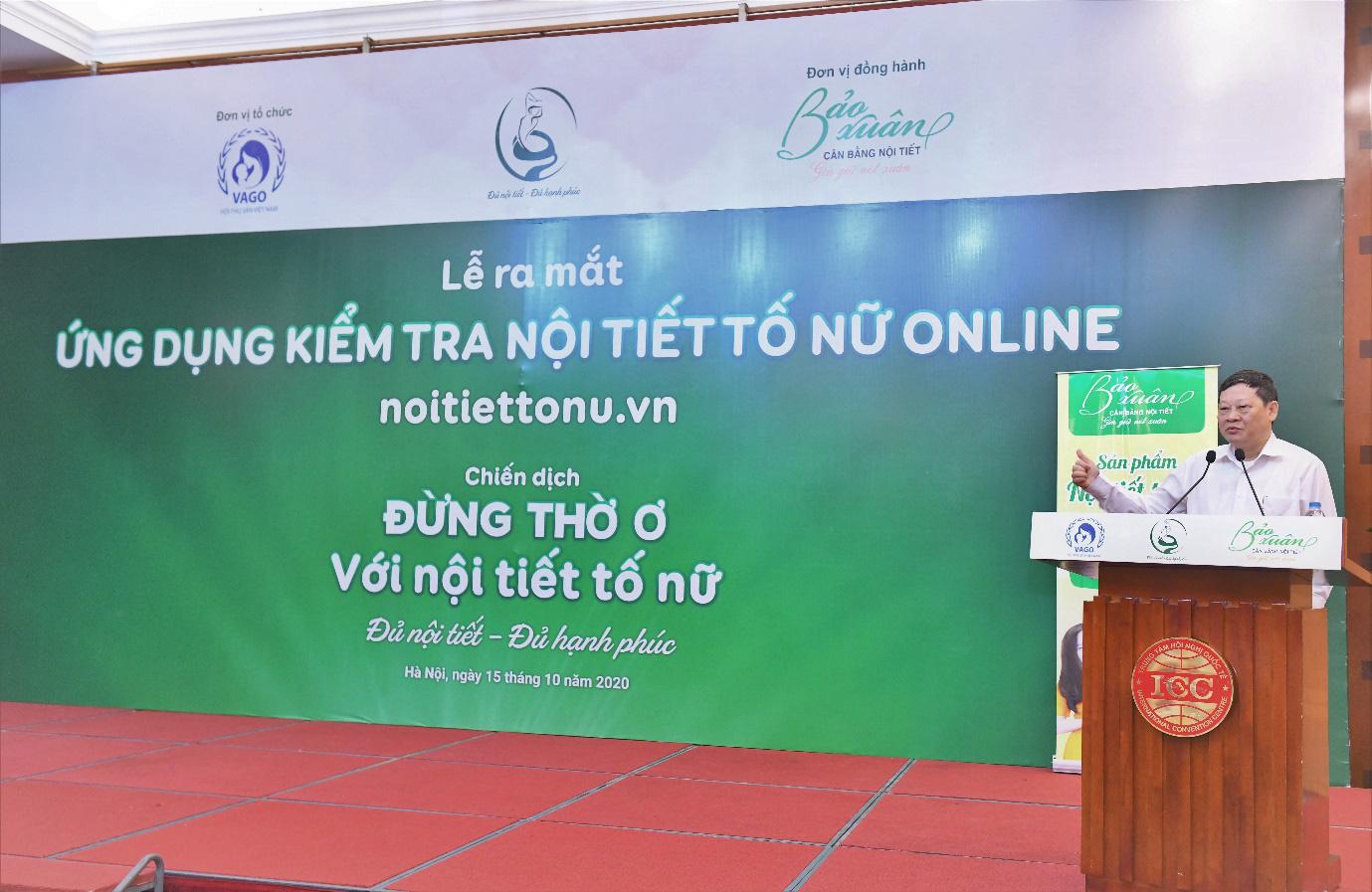 Lần đầu tiên ra mắt ứng dụng kiểm tra nội tiết tố nữ tại Việt Nam - Ảnh 1.