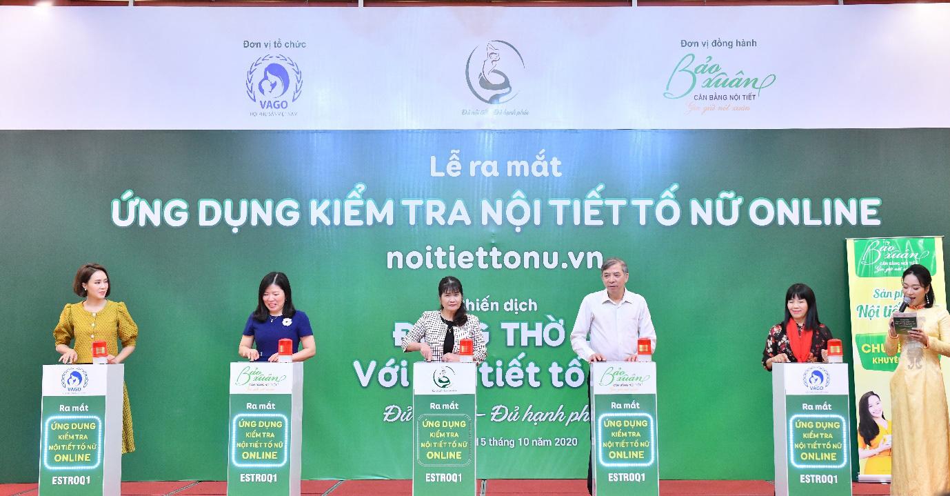 Lần đầu tiên ra mắt ứng dụng kiểm tra nội tiết tố nữ tại Việt Nam - Ảnh 3.
