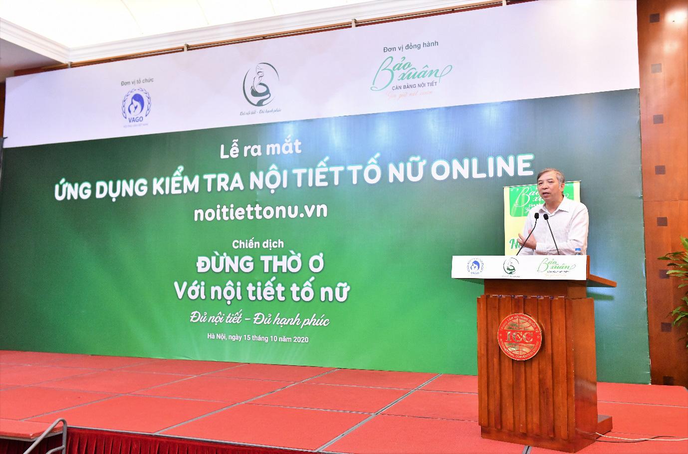 Lần đầu tiên ra mắt ứng dụng kiểm tra nội tiết tố nữ tại Việt Nam - Ảnh 4.