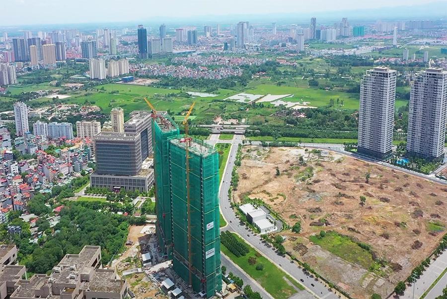 Giá căn hộ chung cư ngoài trung tâm Hà Nội được đẩy lên 50-60 triệu đồng/m2 - Ảnh 1.