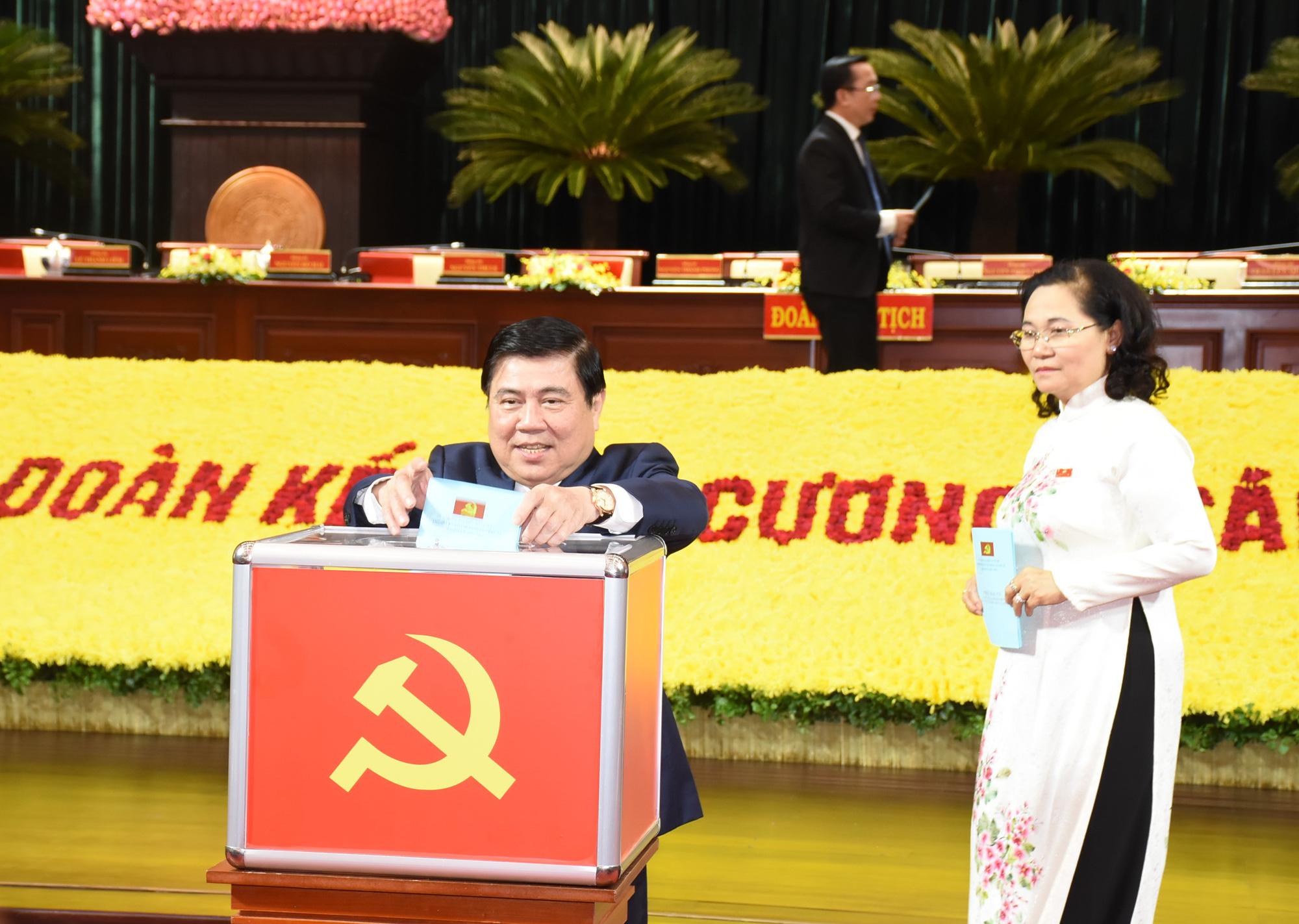 Kết quả bầu ủy viên Ban chấp hành Đảng bộ TP.HCM khóa XI - Ảnh 1.