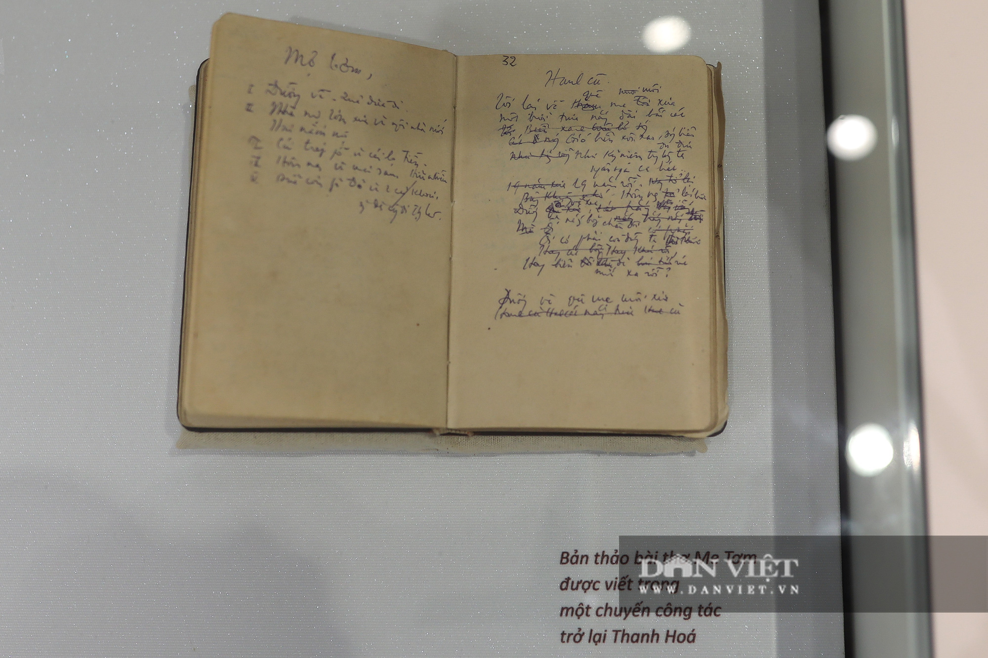 """Chiêm ngưỡng """"bảo tàng thơ"""" Tố Hữu mới xuất hiện tại Hà Nội - Ảnh 5."""