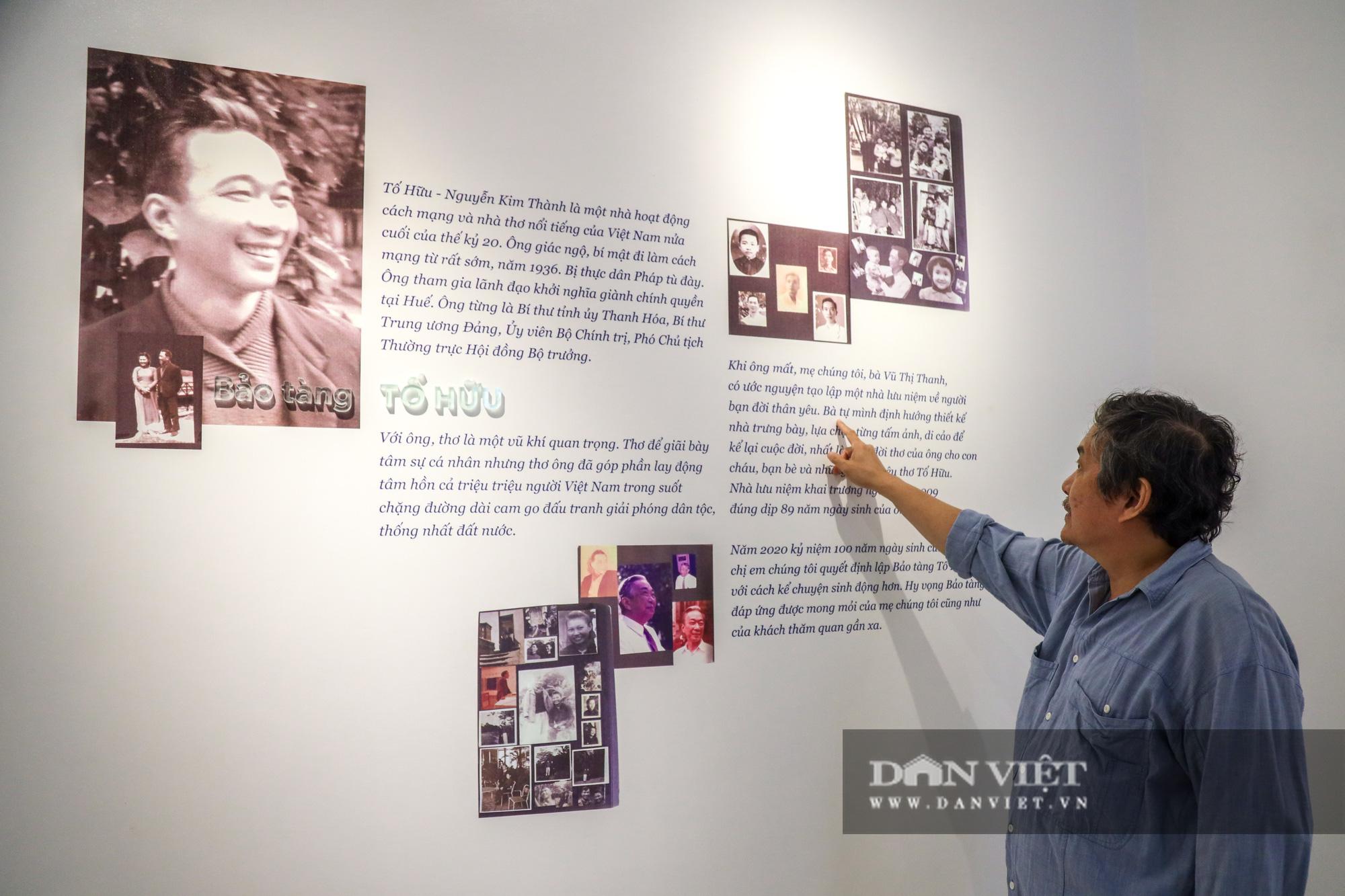 """Chiêm ngưỡng """"bảo tàng thơ"""" Tố Hữu mới xuất hiện tại Hà Nội - Ảnh 14."""