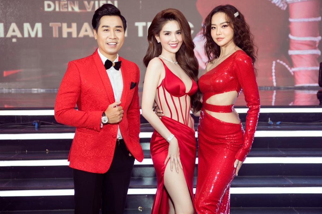 Ngọc Trinh chơi lớn mời nguyên showbiz Việt dự sự kiện, đọ dáng thon thả cùng Hương Giang - Ảnh 4.