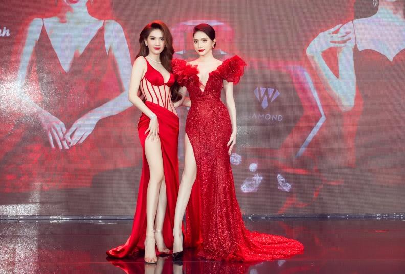 Ngọc Trinh chơi lớn mời nguyên showbiz Việt dự sự kiện, đọ dáng thon thả cùng Hương Giang - Ảnh 2.