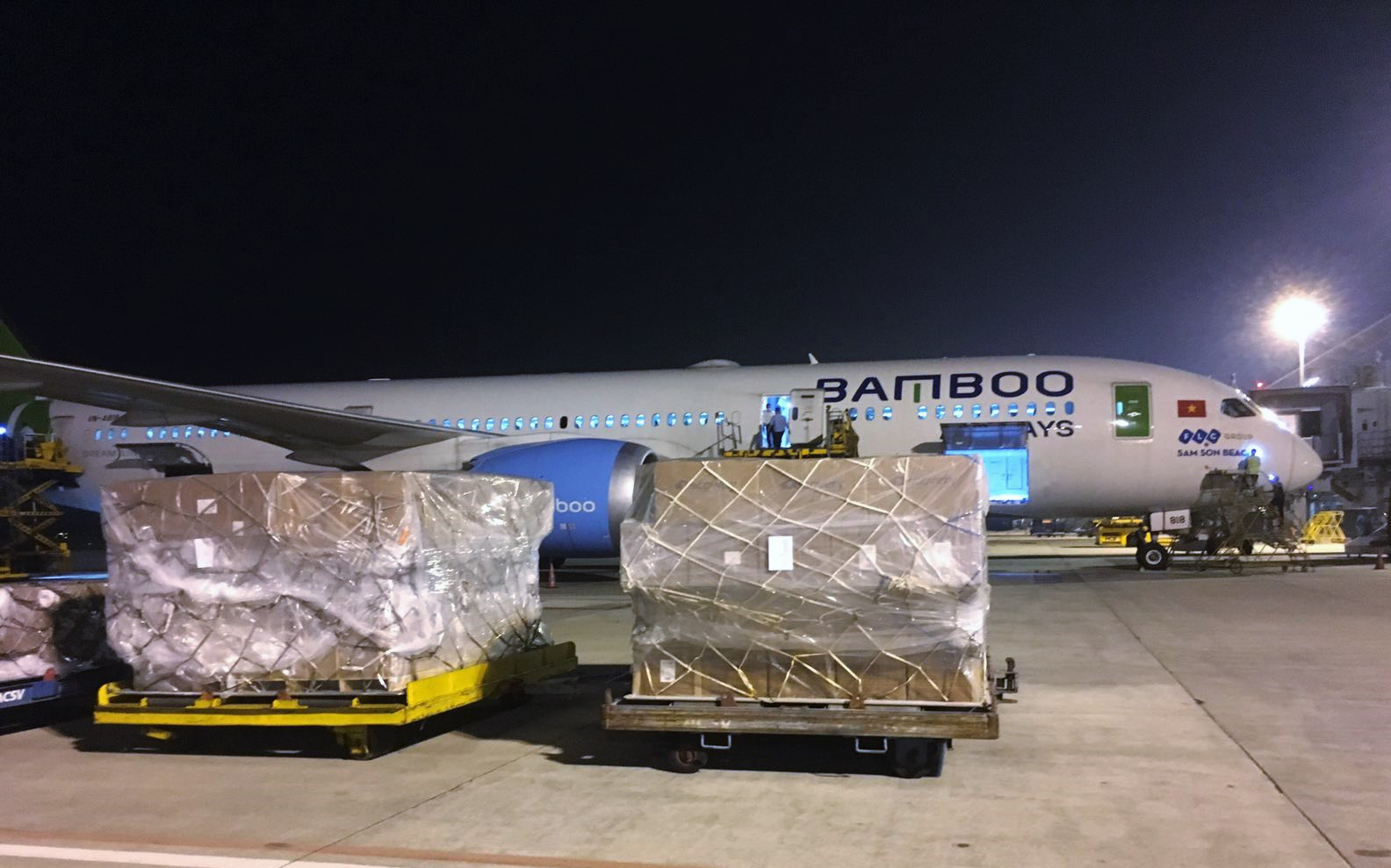 Hàng không miễn phí vận chuyển hàng hoá tới các tỉnh miền Trung  - Ảnh 4.