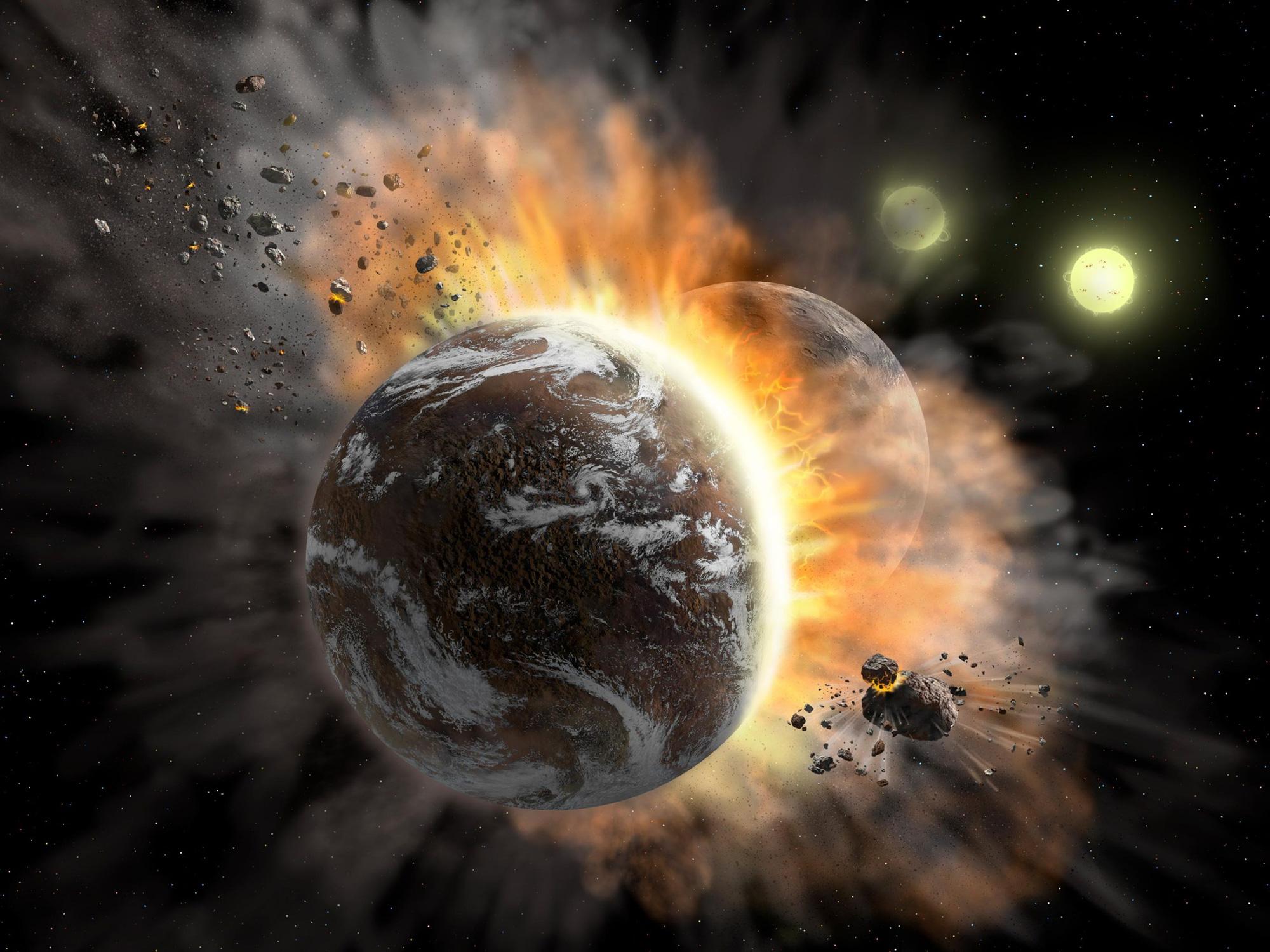 Nhà khoa học nói về nguy cơ một tiểu hành tinh rơi xuống Trái đất trước ngày bầu cử Mỹ - Ảnh 1.