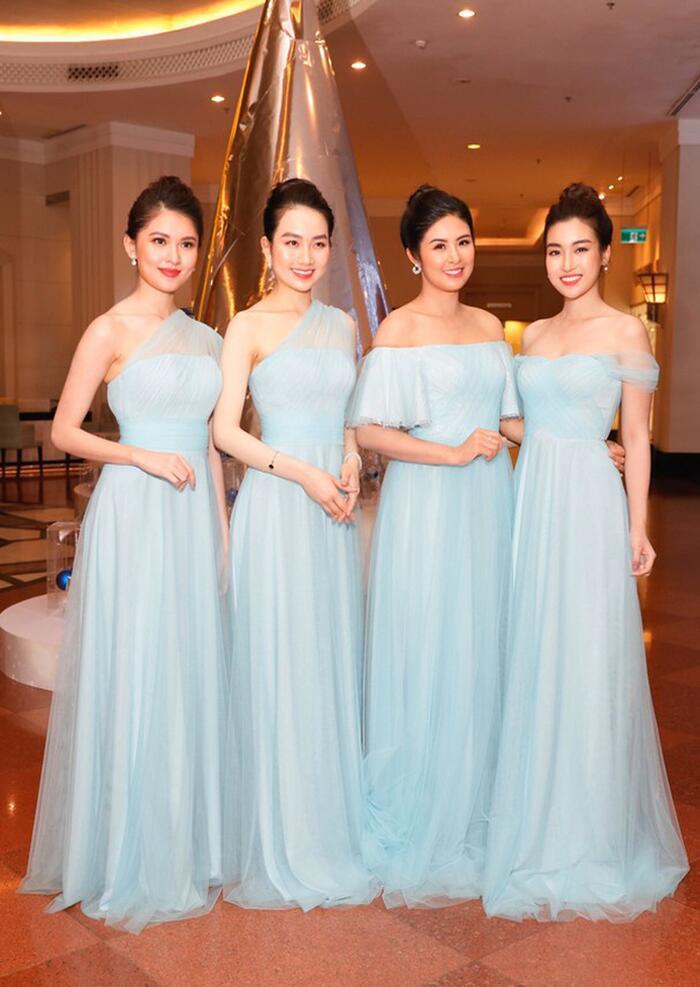 Khi các nàng hậu Việt làm phù dâu, cô dâu xinh đến mấy cũng thấp thỏm vì sợ bị chiếm sóng - Ảnh 3.
