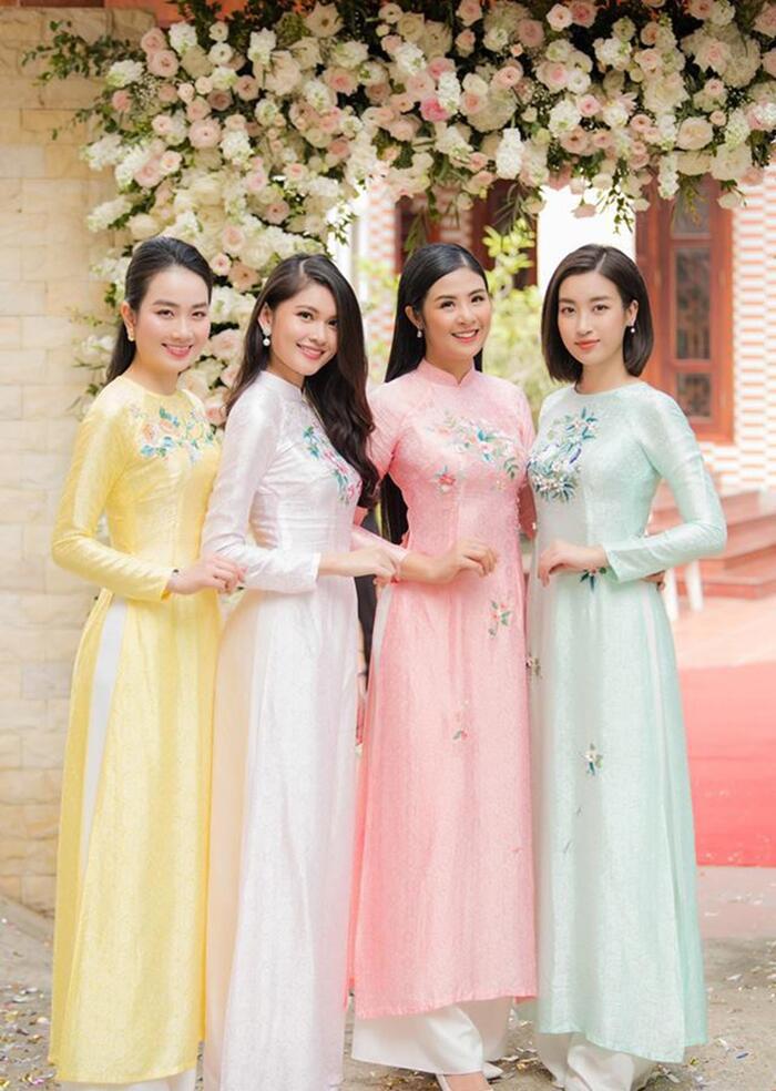 Khi các nàng hậu Việt làm phù dâu, cô dâu xinh đến mấy cũng thấp thỏm vì sợ bị chiếm sóng - Ảnh 5.