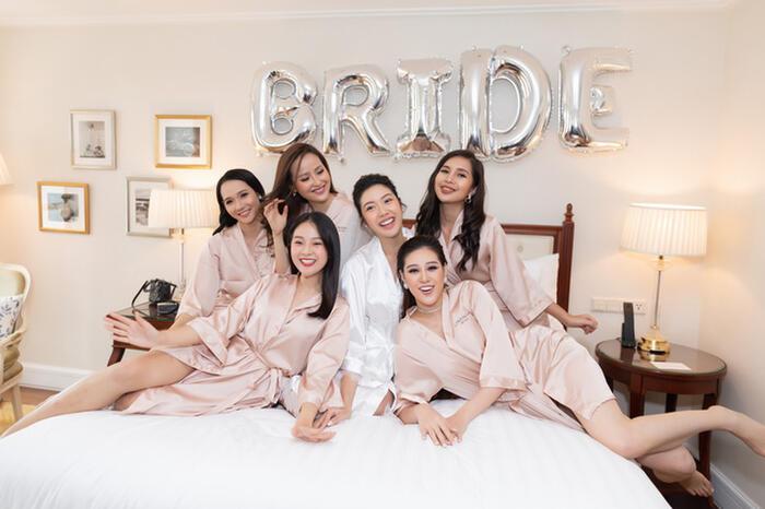 Khi các nàng hậu Việt làm phù dâu, cô dâu xinh đến mấy cũng thấp thỏm vì sợ bị chiếm sóng - Ảnh 6.