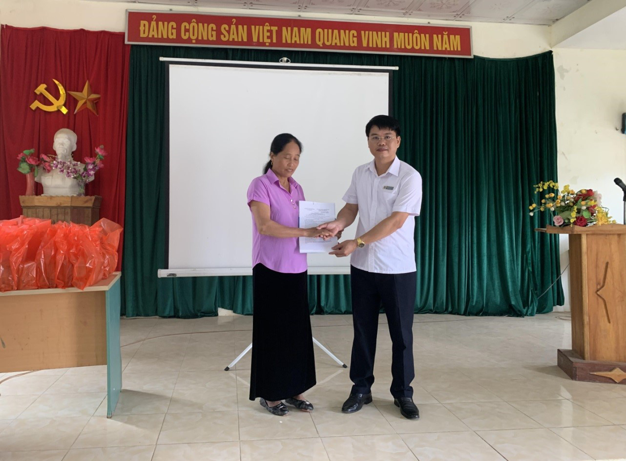 """Vân Hồ (Sơn La): Huyện nghèo """"vượt bậc"""" về số người tham gia BHXH tự nguyện - Ảnh 1."""