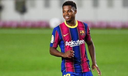 Fati sắp cân bằng kỷ lục ghi bàn ở La Liga.