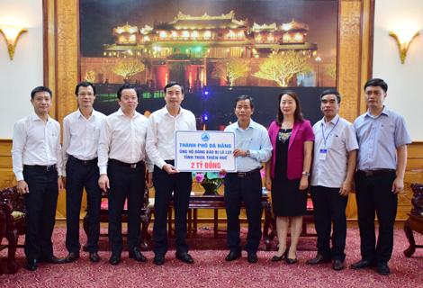 Đà Nẵng hỗ trợ Thừa Thiên Huế khắc phục hậu quả bão số 5 - Ảnh 1.