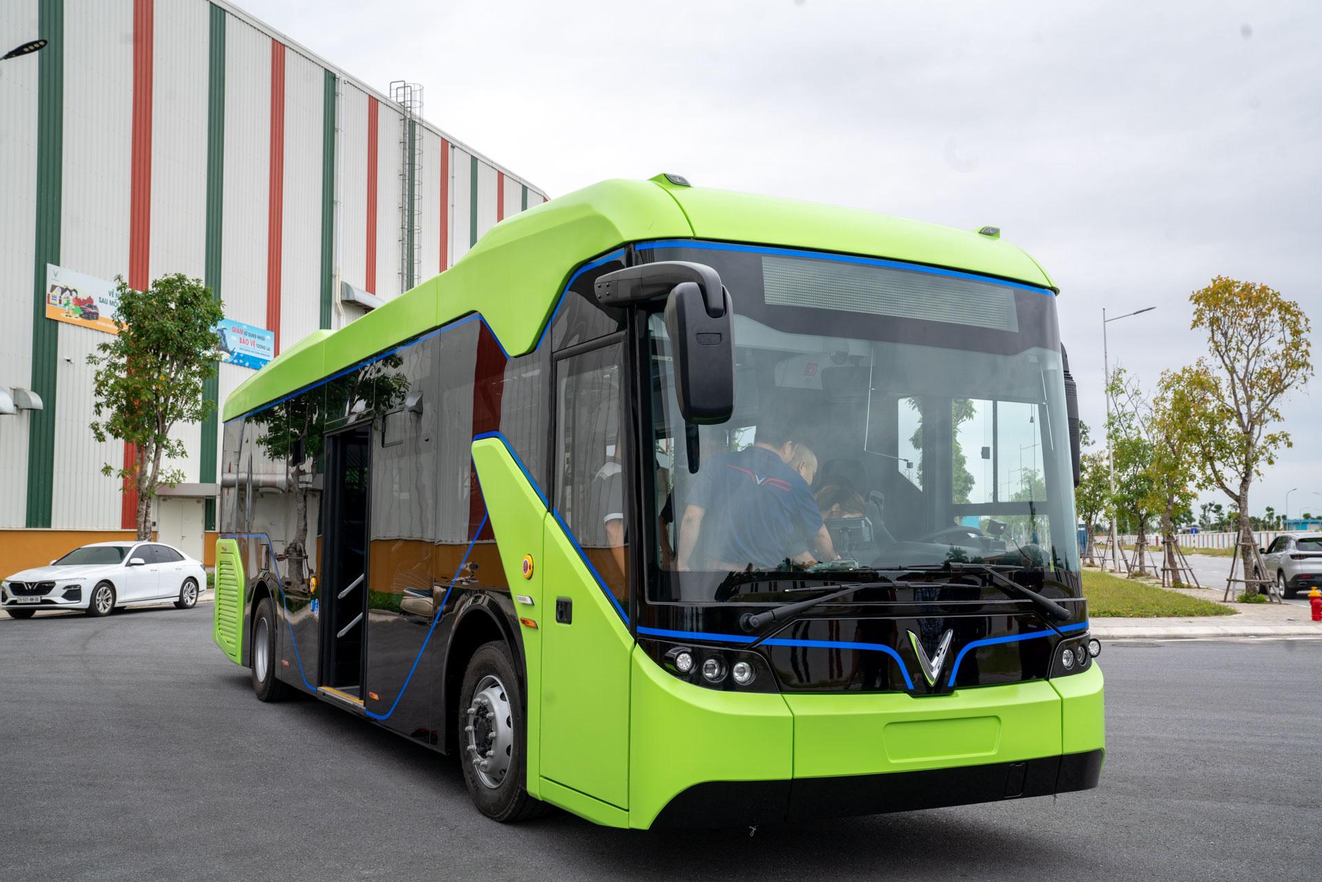 Vingroup chính thức chạy thử nghiệm xe buýt điện VinFast - Ảnh 6.