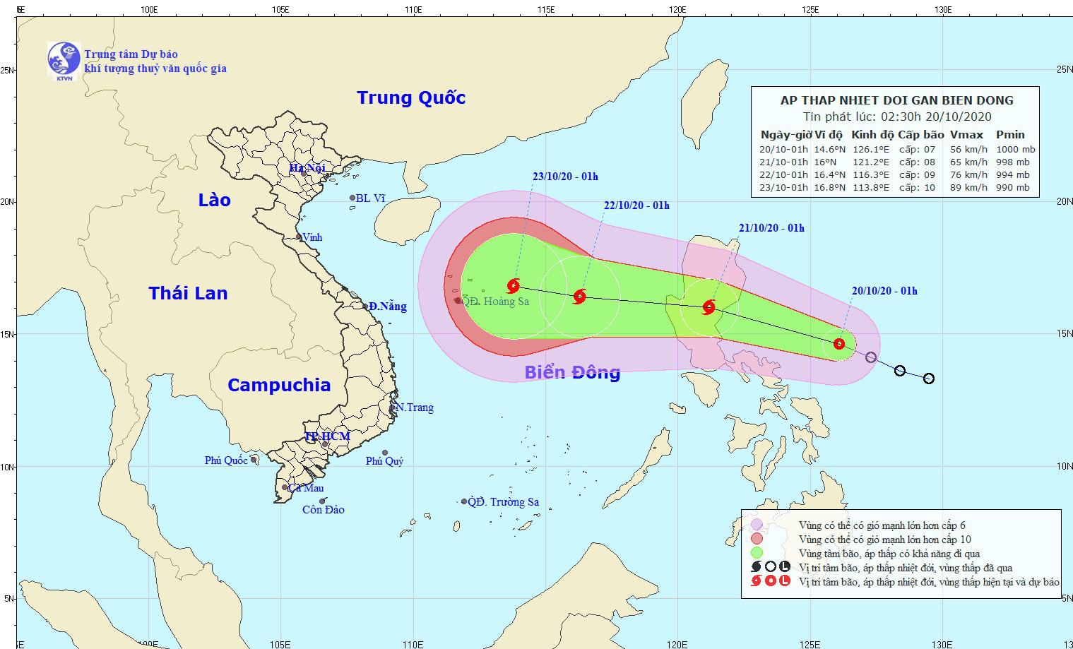 Lũ ở Quảng Bình, Hà Tĩnh cao chưa từng có, áp thấp nhiệt đới có thể mạnh thêm, miền Trung mưa chưa dứt - Ảnh 1.
