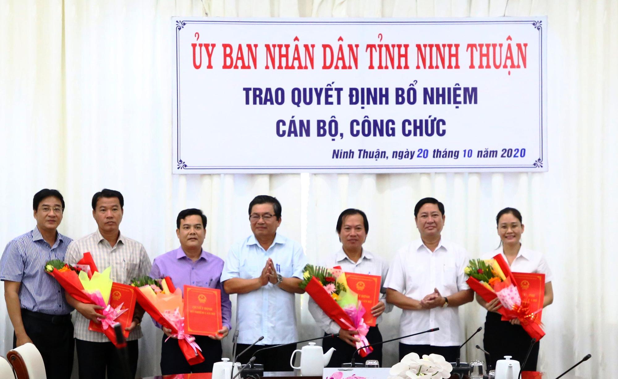 Ninh Thuận: Bổ nhiệm, điều động nhiều lãnh đạo chủ chốt - Ảnh 1.