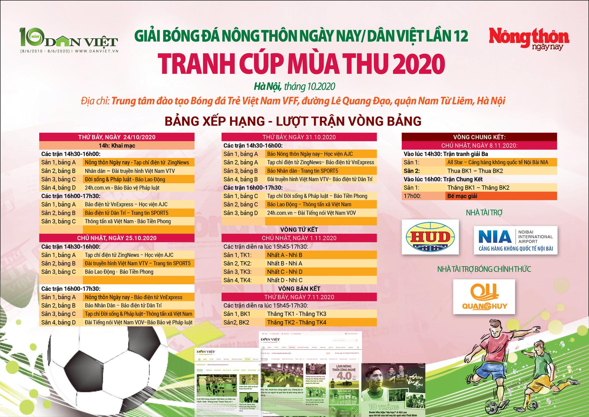 BLV Vũ Quang Huy nói gì khi tài trợ Giải bóng đá Báo NTNN/Dân Việt 2020? - Ảnh 4.
