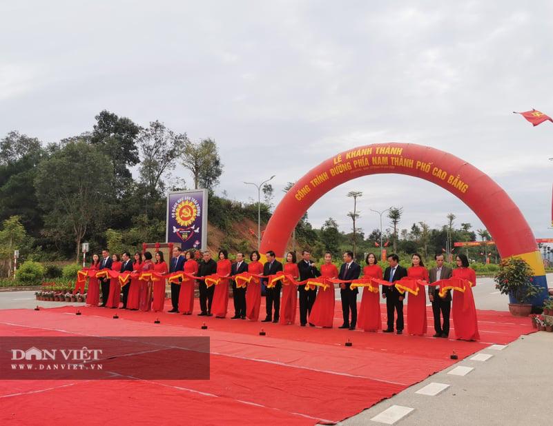 Cao Bằng: Khánh thành, gắn biển một loạt công trình chào mừng Đại hội Đảng bộ tỉnh - Ảnh 2.