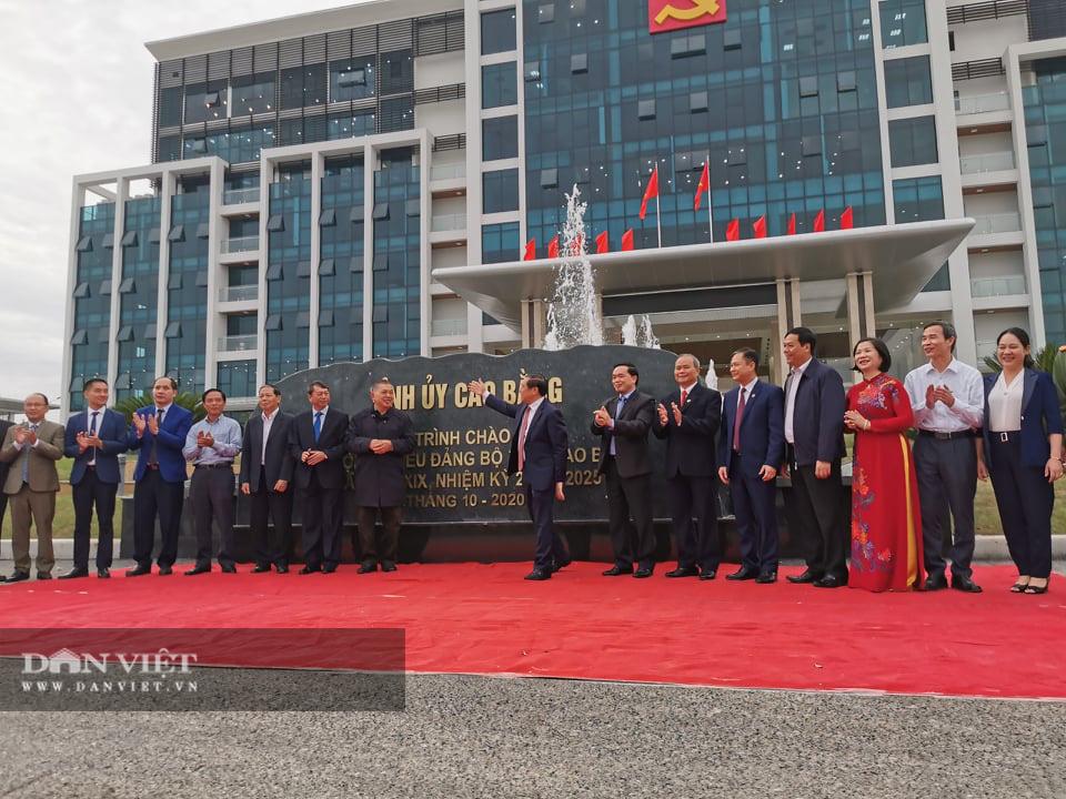 Cao Bằng: Khánh thành, gắn biển một loạt công trình chào mừng Đại hội Đảng bộ tỉnh - Ảnh 4.