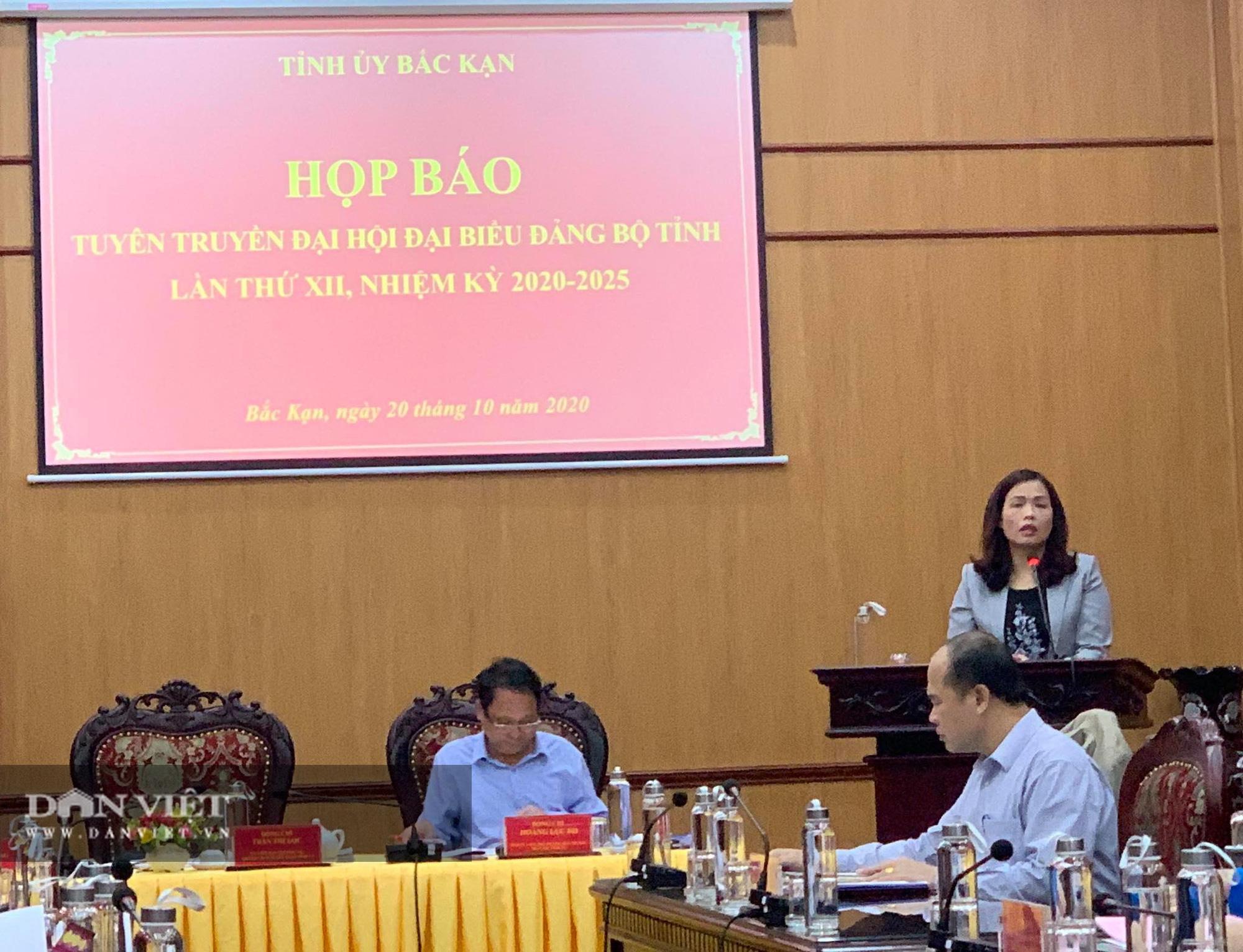 Bắc Kạn: Sẽ có 345 đại biểu tham dự Đại hội đảng bộ tỉnh - Ảnh 1.