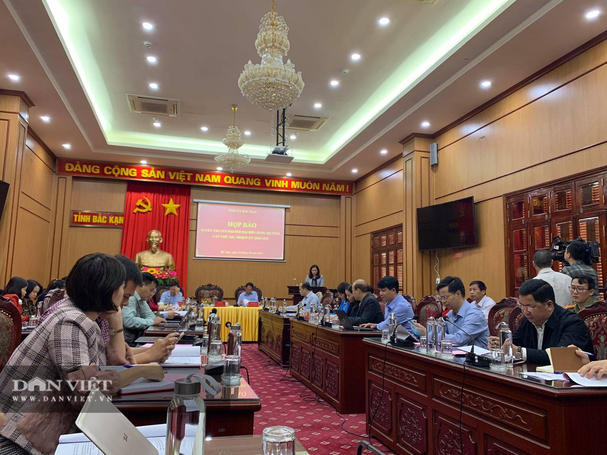Bắc Kạn: Sẽ có 345 đại biểu tham dự Đại hội đảng bộ tỉnh - Ảnh 2.