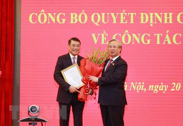 Ông Lê Minh Hưng được điều động làm Chánh Văn phòng Trung ương Đảng - Ảnh 1.