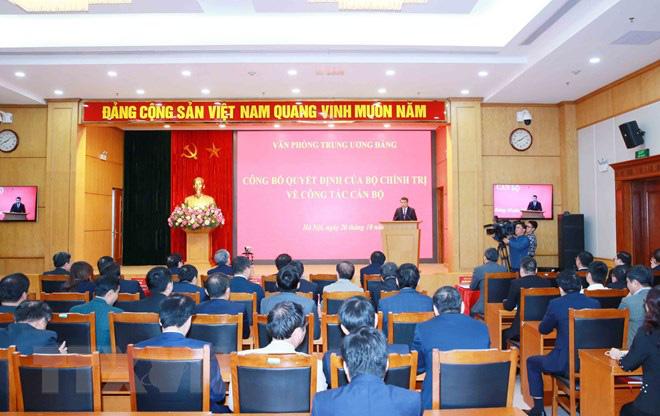 Ông Lê Minh Hưng được điều động làm Chánh Văn phòng Trung ương Đảng - Ảnh 7.