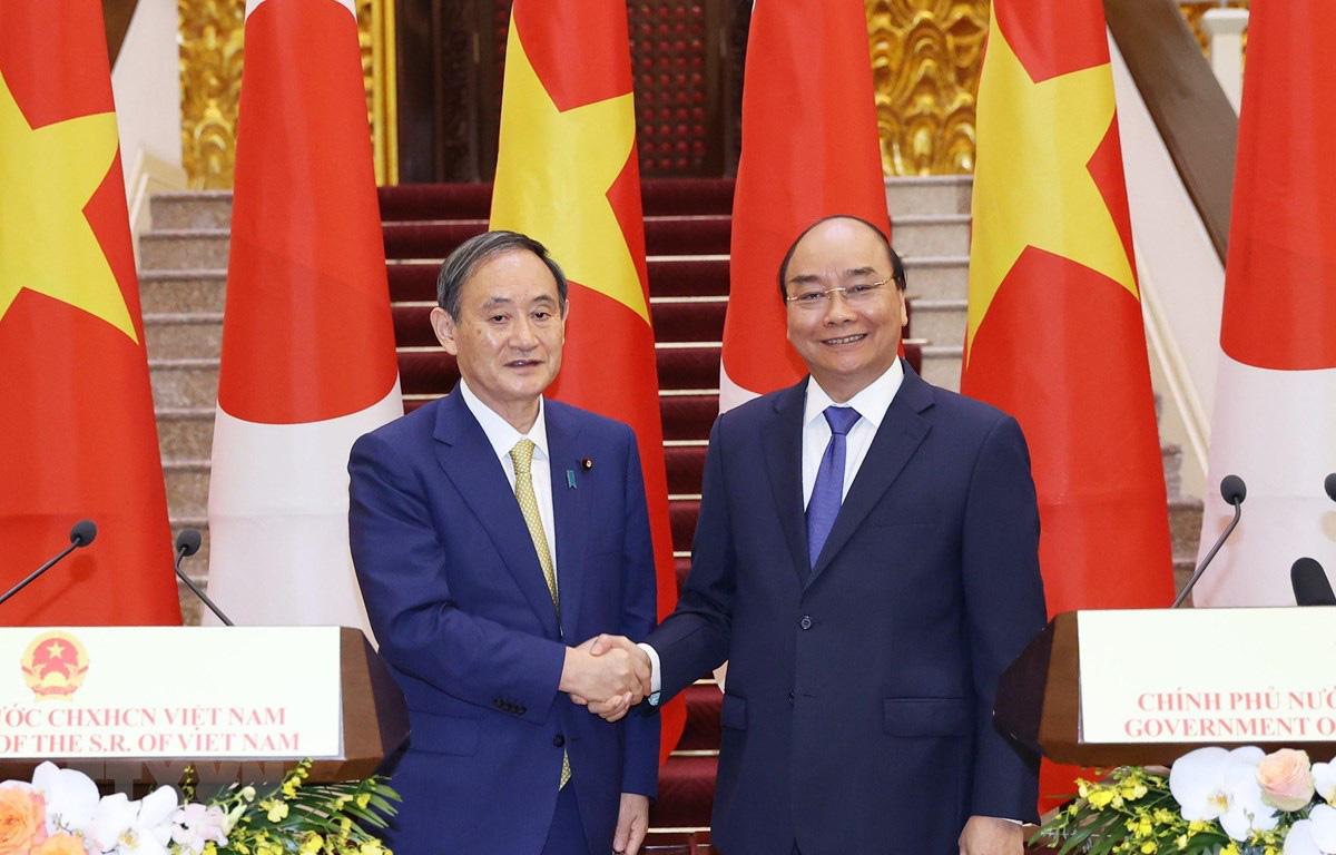 Việt Nam-Nhật Bản trao đổi các văn kiện hợp tác trị giá gần 4 tỷ USD - Ảnh 1.