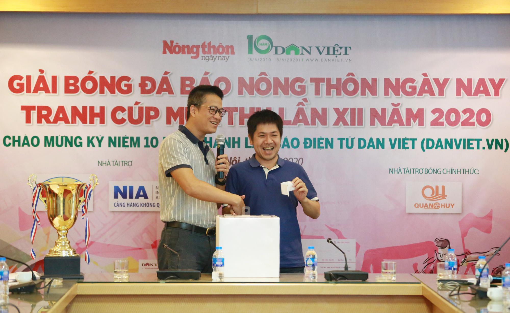 BLV Vũ Quang Huy nói gì khi tài trợ Giải bóng đá Báo NTNN/Dân Việt 2020? - Ảnh 1.