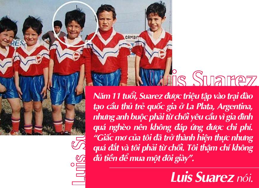 Luis Suarez: Quái vật si tình và hành trình từ thằng bé nhặt ve chai đến siêu sao bóng đá - Ảnh 4.