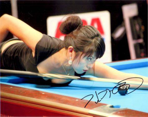 6 nữ cơ thủ billiard xinh đẹp, quyến rũ nhất hiện nay - Ảnh 1.