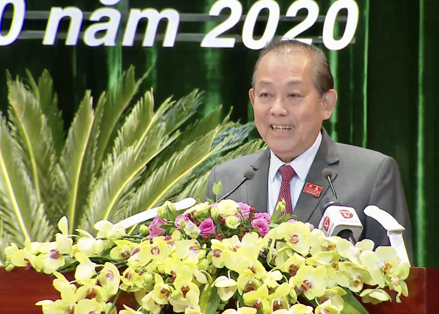 """""""Đại biểu Đà Nẵng cần bám sát đề án nhân sự của Bộ Chính trị đã duyệt để bầu..."""" - Ảnh 1."""