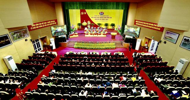 Đại hội Đảng bộ tỉnh Quảng Ngãi lần thứ XX: Mục tiêu trở thành tỉnh phát triển khá của miền Trung  - Ảnh 2.