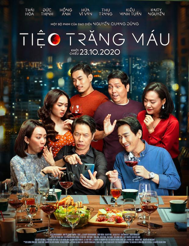 Thu Trang, Kaity Nguyễn và Đức Thịnh được khen ngợi về diễn xuất trong Tiệc trăng máu - Ảnh 2.
