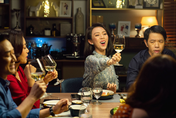 Thu Trang, Kaity Nguyễn và Đức Thịnh được khen ngợi về diễn xuất trong Tiệc trăng máu - Ảnh 1.