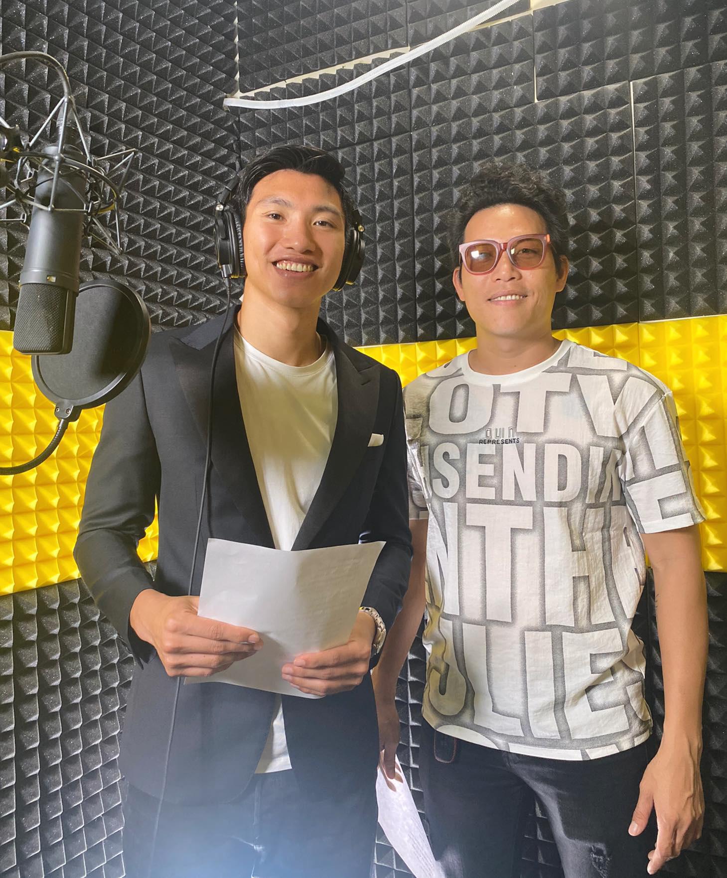 Quang Hải, Đoàn Văn Hậu, Duy Mạnh khoe giọng hát cực chất, hát về miền Trung - Ảnh 2.