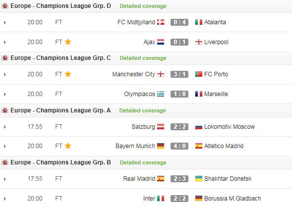 """Kết quả Champions League 22/10: Bayern đại thắng, Real """"ngã ngựa"""" - Ảnh 4."""