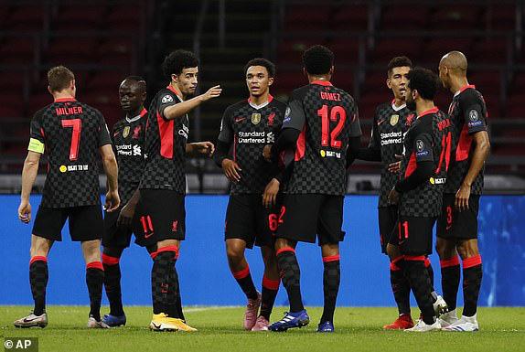 Liverpool gặp không ít khó khăn trước Ajax