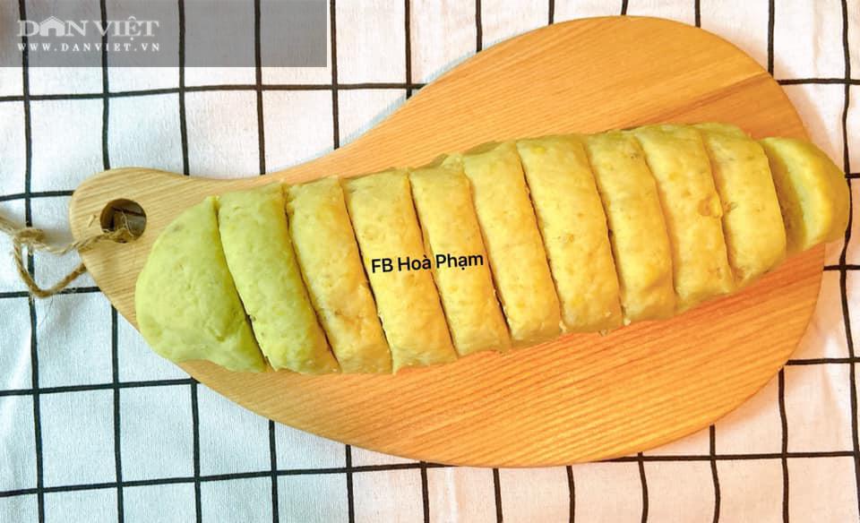 Làm bánh khoai lang bằng nồi chiên không dầu - Ảnh 5.