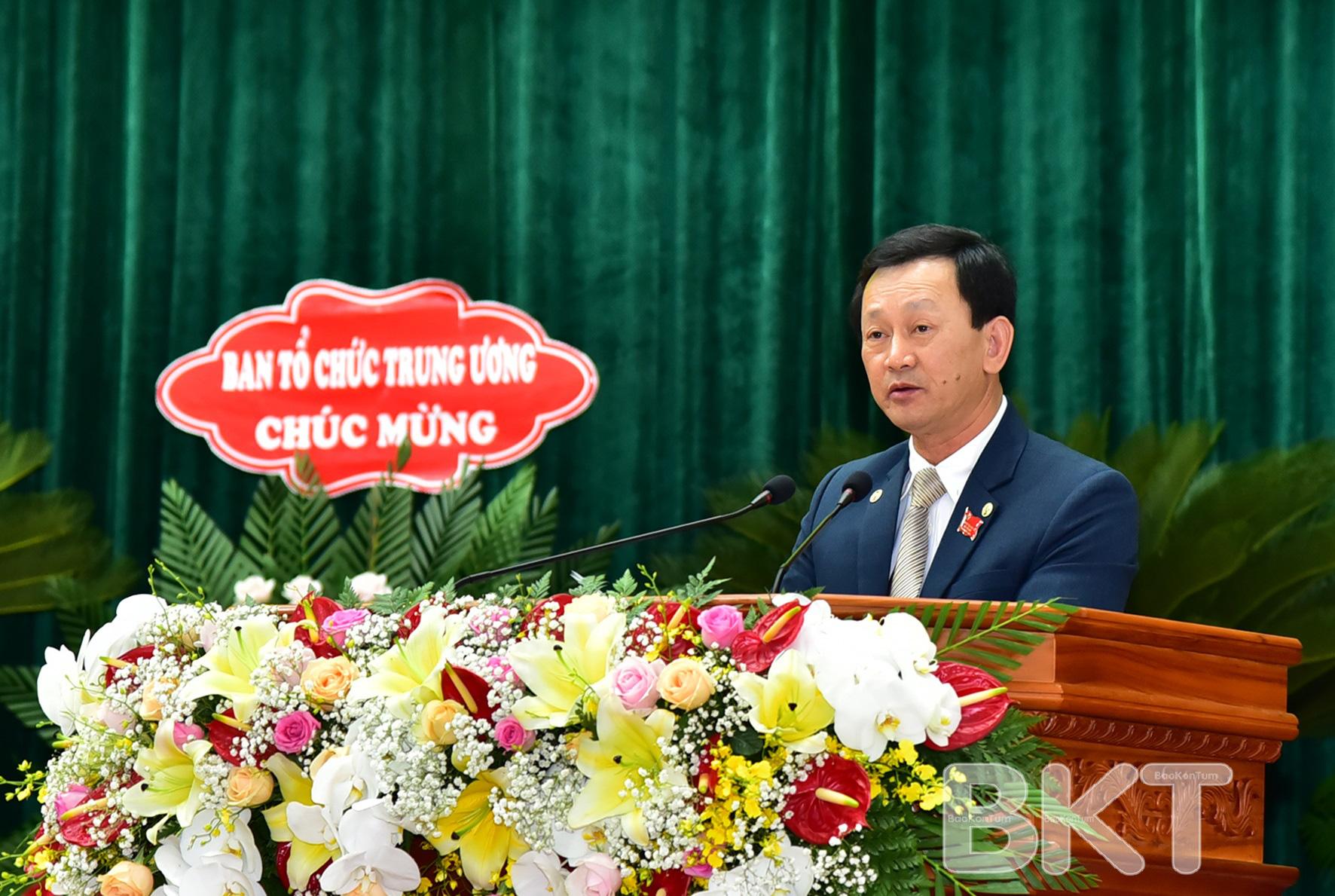 Bí thư Tỉnh ủy Dương Văn Trang được phê chuẩn miễn nhiệm chức Chủ tịch HĐND Gia Lai sau khi chuyển công tác - Ảnh 1.