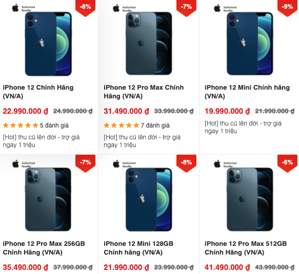 """Tin công nghệ (22/10): Giá iPhone 12 liên tục giảm, Mỹ tung """"độc chiêu"""" với Trung Quốc - Ảnh 1."""