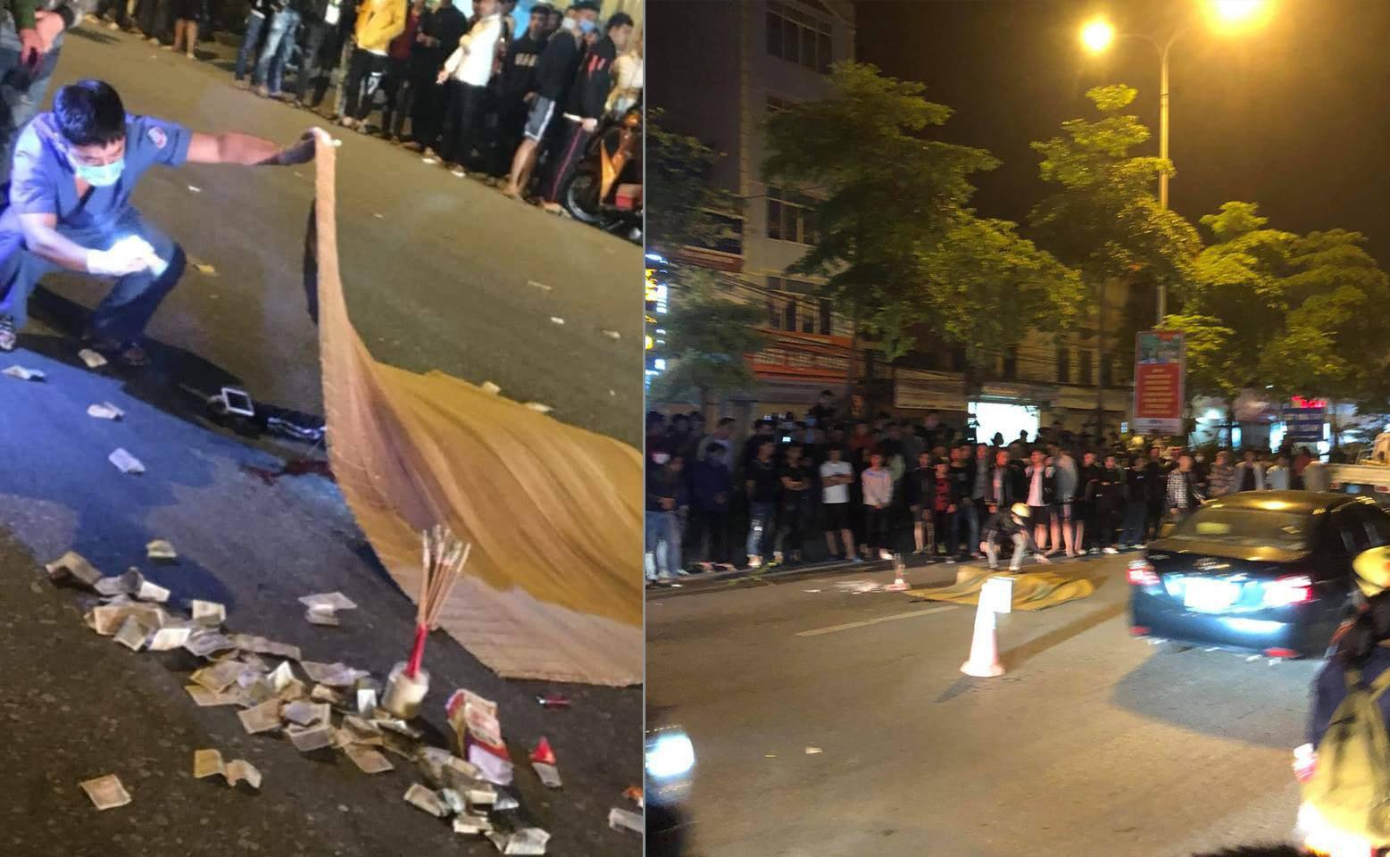 Hai thanh niên bốc đầu xe máy, 1 người ngã ra đường bị ô tô cán chết - Ảnh 1.