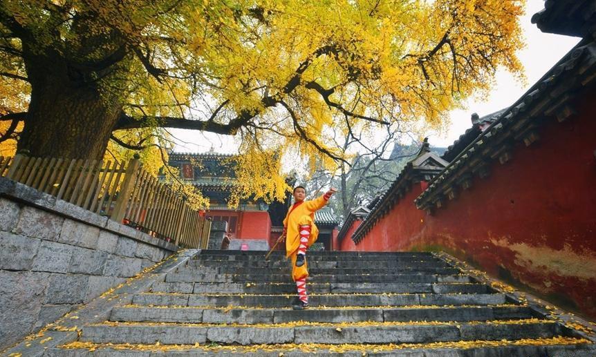 Mùa thu đẹp ở các địa danh trong truyện Kim Dung - Ảnh 1.
