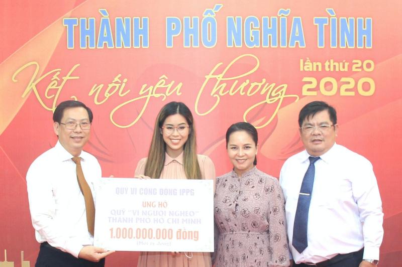 Tiên Nguyễn tiếp tục trích quỹ từ thiện 1 tỷ đồng để ủng hộ người nghèo  - Ảnh 1.